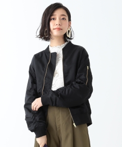 B:MING by BEAMS / ナイロンルーズ MA-1 18AW