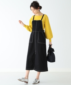 UNIVERSAL OVERALL × B:MING by BEAMS / 別注 エプロンドレス 19SS