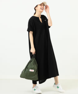 LACOSTE × B:MING by BEAMS / スリットネック ワンピース 20SS