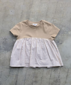 B:MING by BEAMS / 布帛コンビ カットソー(80~150cm)