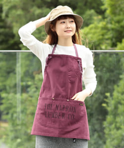 NAPRON × B:MING by BEAMS / 別注 LUMBER BIB APRON