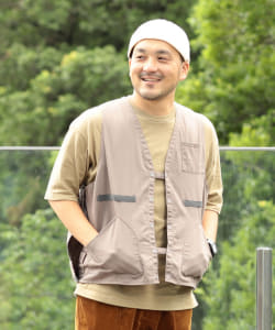 NAPRON × B:MING by BEAMS / 別注 HUNTING VEST APRON