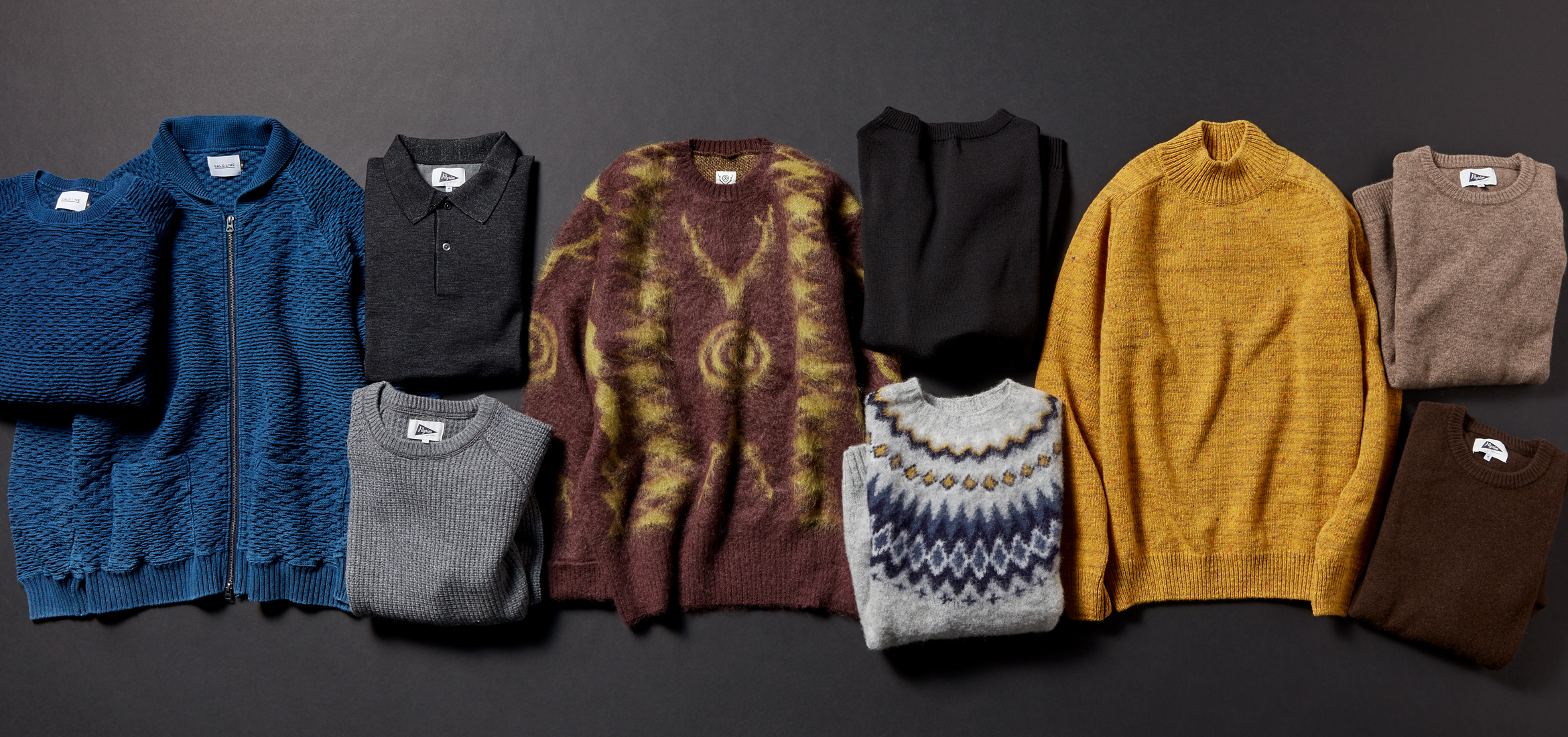 KNIT SEASON for MEN