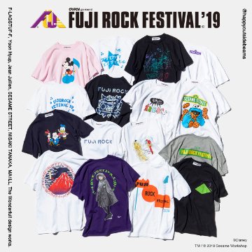 FUJI ROCK FESTIVAL'19 × BEAMS