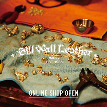 Bill Wall Leather Online Shop Open !